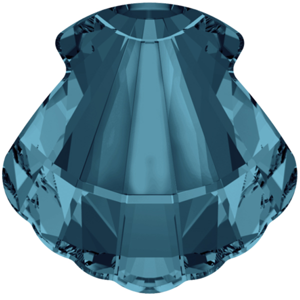 Swarovski 4789 Shell Fancy Stone Indicolite 14mm