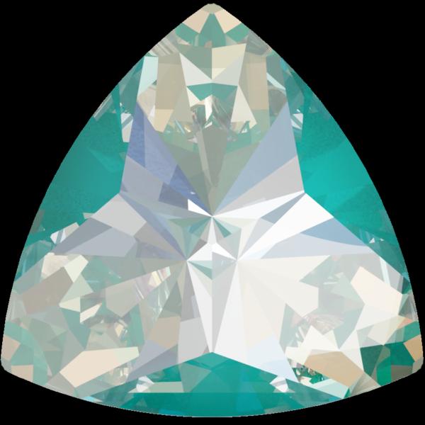 Swarovski 4799 Kaleidoscope Triangle Fancy Stone Crystal Laguna DeLite 6x6.1mm