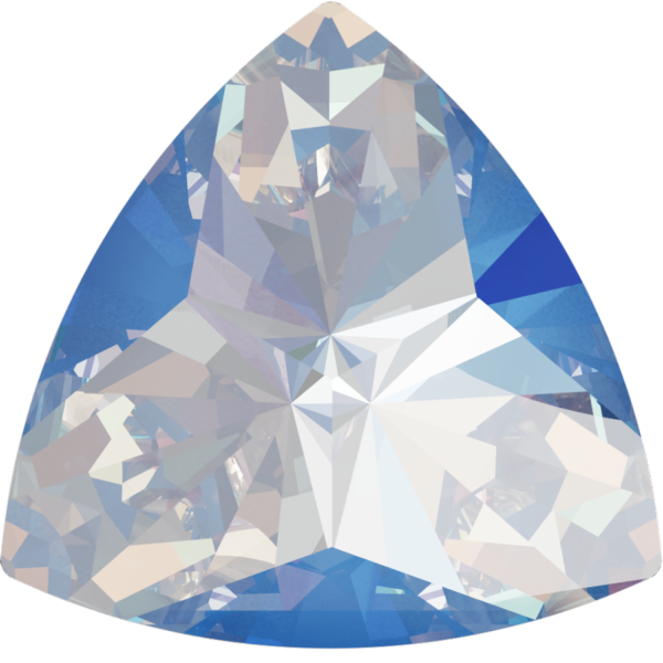 Swarovski 4799 Kaleidoscope Triangle Fancy Stone Crystal Ocean DeLite 20x20.4mm
