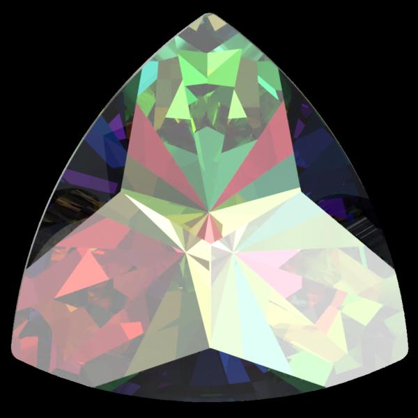 Swarovski 4799 Kaleidoscope Triangle Fancy Stone Crystal Vitrail Medium 20x20.4mm