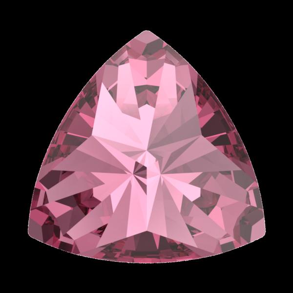 Swarovski 4799 Kaleidoscope Triangle Fancy Stone Rose 6x6.1mm