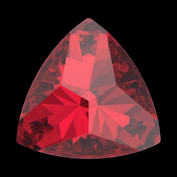 Swarovski 4799 Kaleidoscope Triangle Fancy Stone Scarlet 6x6.1mm
