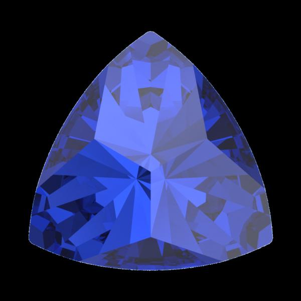Swarovski 4799 Kaleidoscope Triangle Fancy Stone Majestic Blue 6x6.1mm