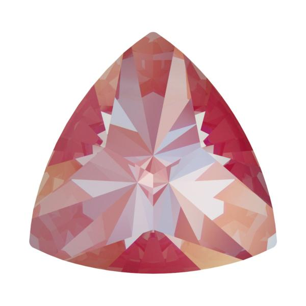 Swarovski 4799 Kaleidoscope Triangle Fancy Stone Crystal Lotus Pink DeLite 6x6.1mm