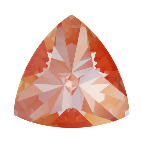 Swarovski 4799 Kaleidoscope Triangle Fancy Stone Crystal Orange Glow DeLite 20x20.4mm