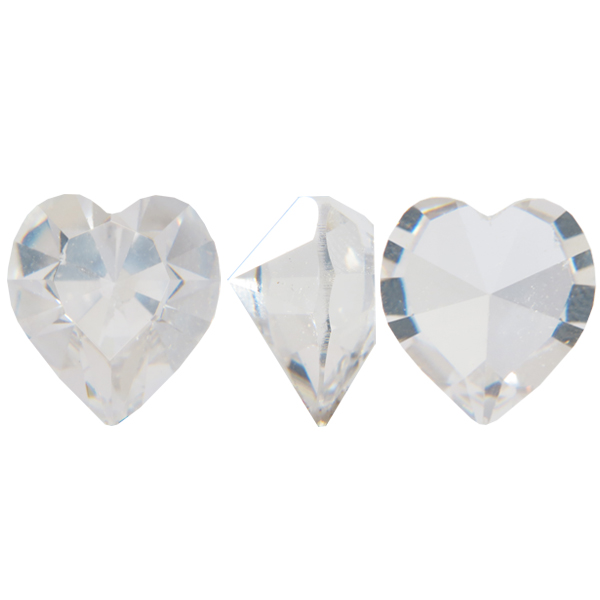 Swarovski 4800 Heart Fancy Stone Crystal (Unfoiled) 18.7x17mm