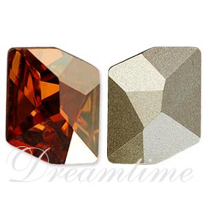 Swarovski 4739 Cosmic Fancy Stone Crystal Chili Pepper 14x11mm