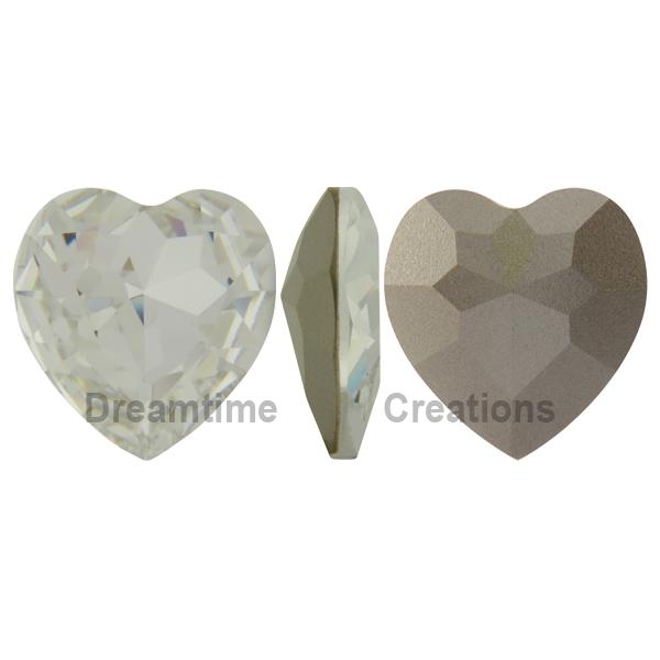 Swarovski 4827 Large Heart Shaped Fancy Stone Crystal 28mm