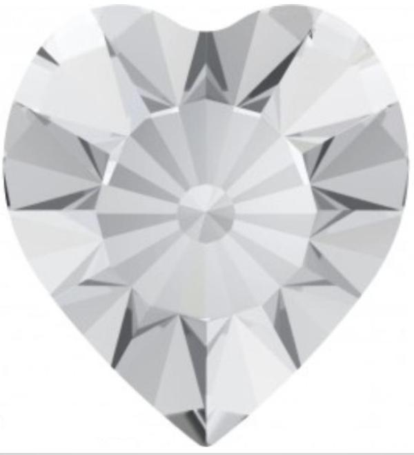 Swarovski 4835 Mini Heart Fancy Stone Crystal 3.5mm