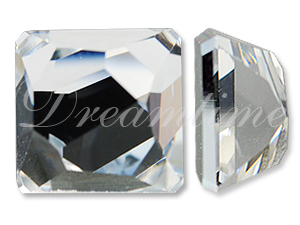 Swarovski 4854 Space Cut Fancy Stone Crystal Comet Argent Light 10mm