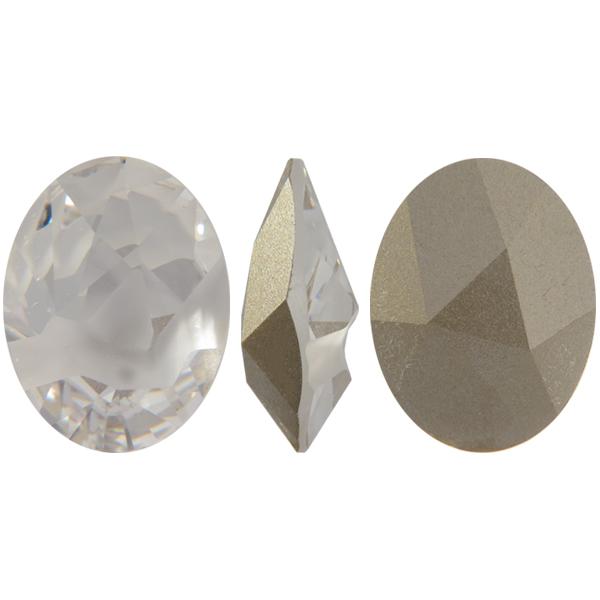 Swarovski 4921 Kaputt Oval Fancy Stone Crystal 23x18mm