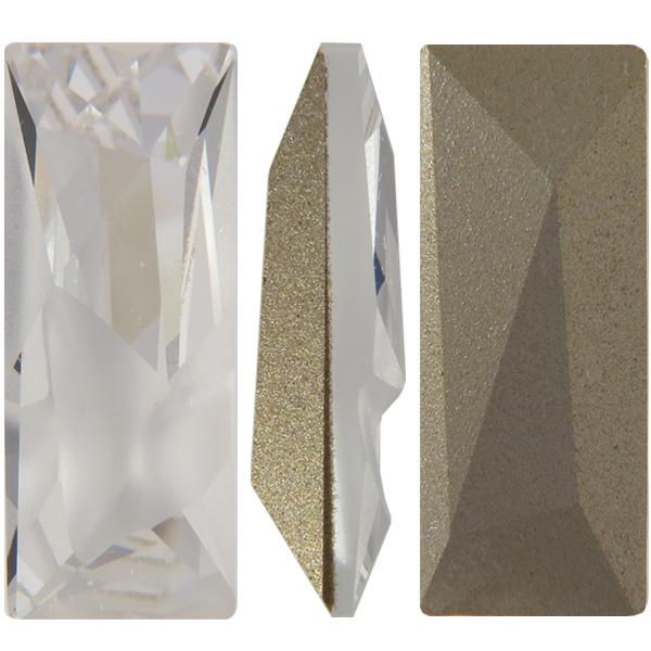 Swarovski 4925 Kaputt Baquette Fancy Stone Crystal 23x9mm