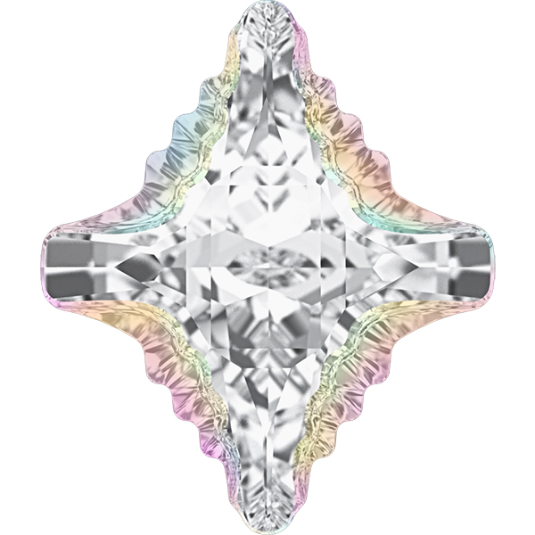 Swarovski 4927 Rhombus Tribe Fancy Stone Crystal AB 19x17mm