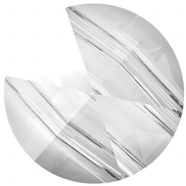Swarovski 5062 Round Two-Hole Spike Bead Crystal 7.5mm