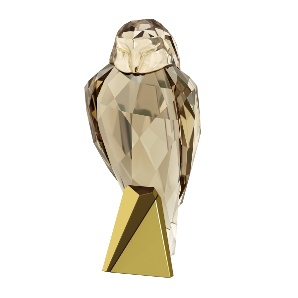 Swarovski Collections Owl Figurine, Signed by the Designer