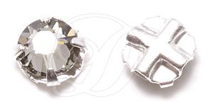 Swarovski 53102 Rose Montee ss16 Black Diamond