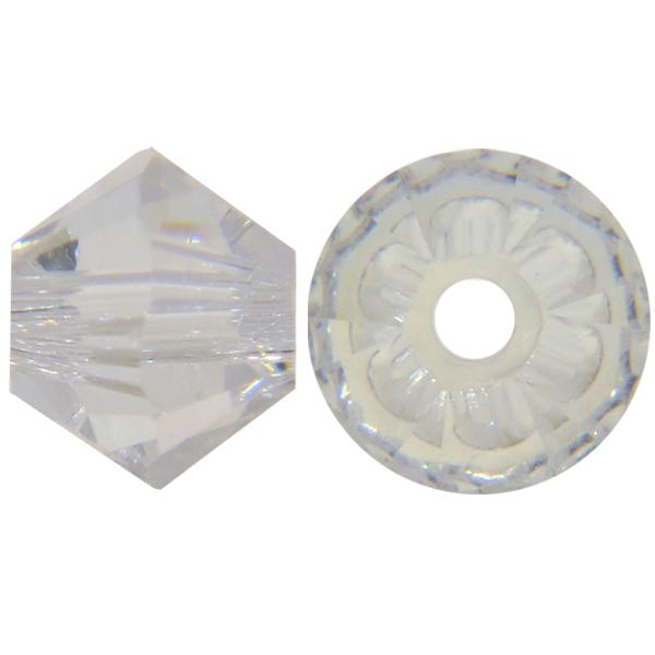 3293aa410 Swarovski 5328 Bicone Bead Crystal Moonlight 6mm | Dreamtime Creations