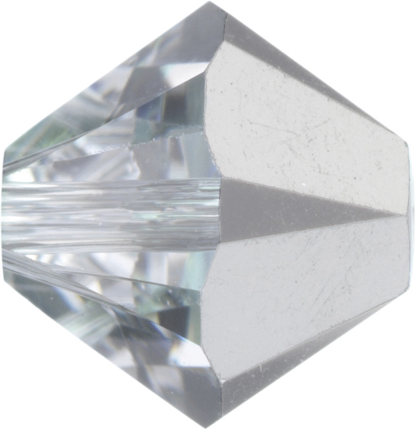 Swarovski 5328 Bicone Bead Crystal Comet Argent Light 6mm