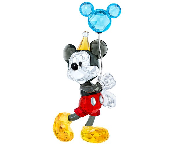 Swarovski Collections Mickey Mouse Celebration Figurine