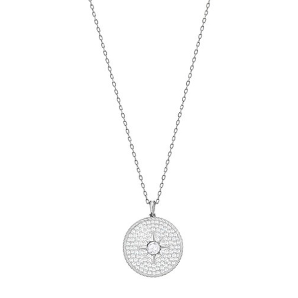 Swarovski Collections - Locket Pendant, Crystal, Rhodium Plating
