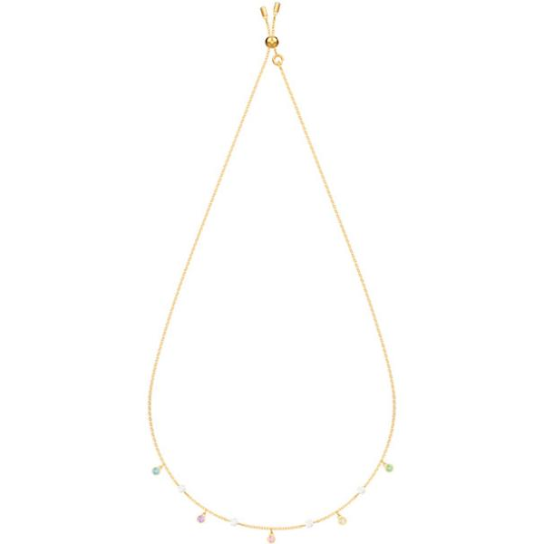 Swarovski Collections -No Regrets Necklace Multi-colored Gold plating