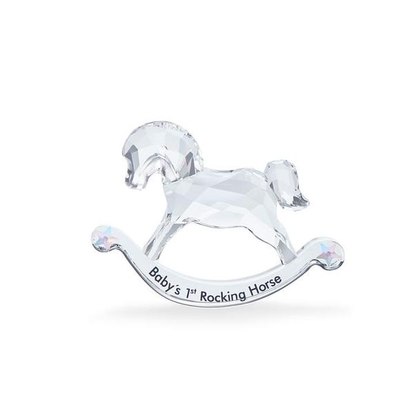 Swarovski Collections First Steps Baby's 1st Rocking Horse