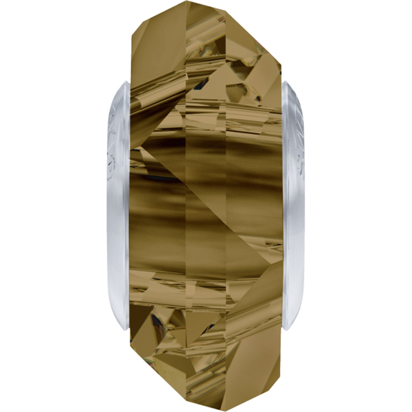 Swarovski 5929 BeCharmed Fortune Bead Crystal Bronze Shade 14mm