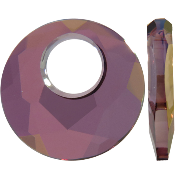 Swarovski 6041 Victory Pendant Crystal Lilac Shadow 18mm