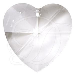 15c9be4934fbe Swarovski 6202 Heart Shaped Pendant Crystal 18x17.5mm
