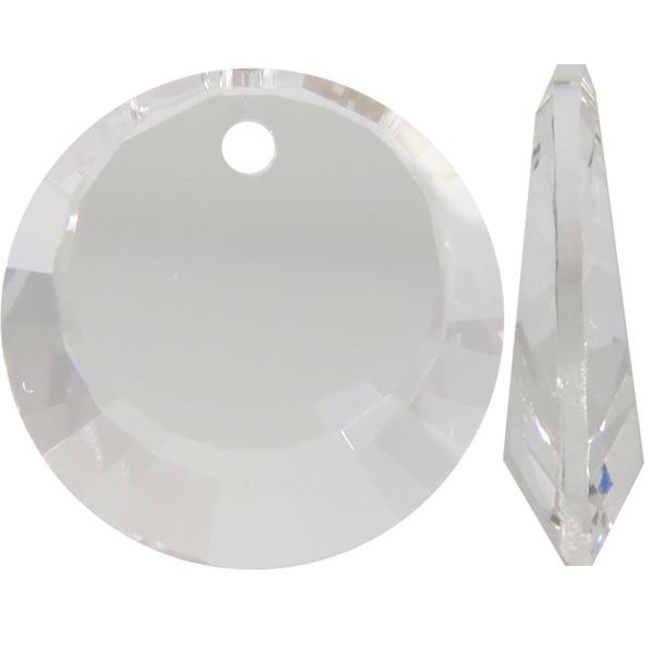 Swarovski 6210 Crescent Moon Pendant Crystal 12mm