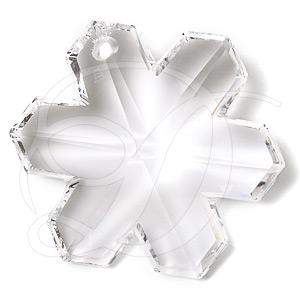 Swarovski 6704 Snowflake Pendant Crystal 35mm