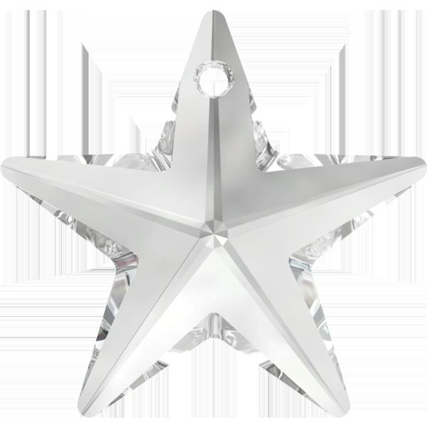 Swarovski 6714 Star Pendant Crystal 40mm