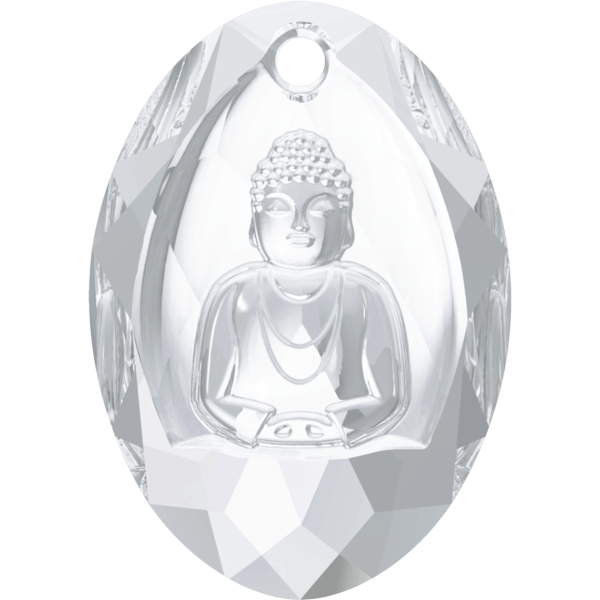 Swarovski 6871 Buddha Pendant Crystal 28x19.8mm