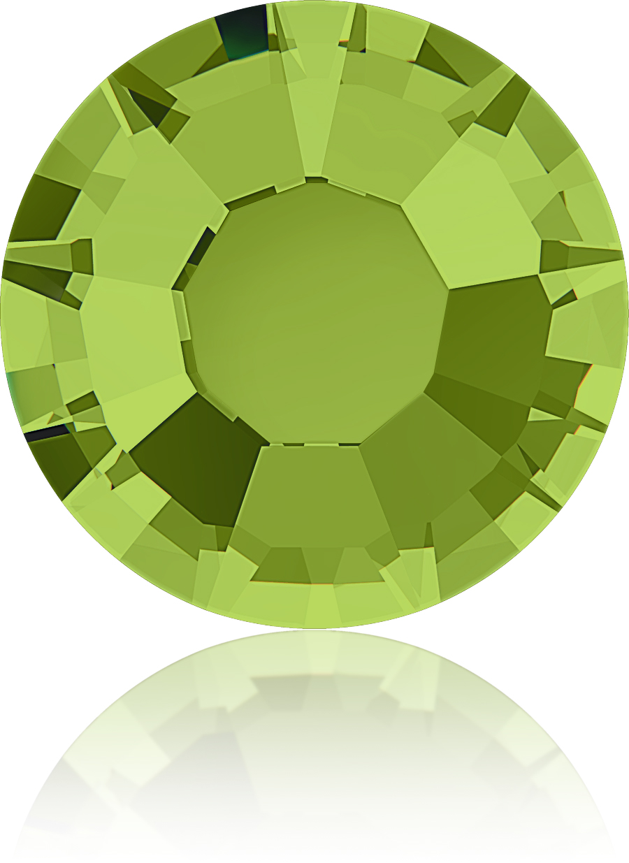 1,440 Swarovski Crystal Rhinestones ~ 16ss ~ Olivine