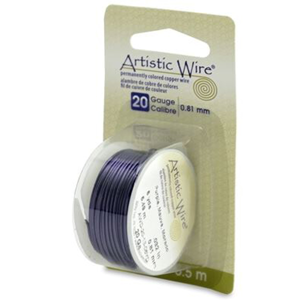 Artistic Wire 20 GAUGE purple | Dreamtime Creations