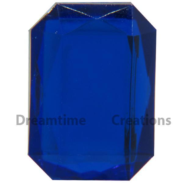 Lead Free Acrylic Rectangular or Square Shaped Rhinestones