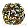 Round Rhinestone Beads