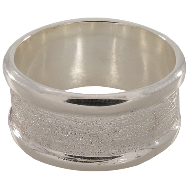 5.5mm Channel Ring Size 11 for Embellishing