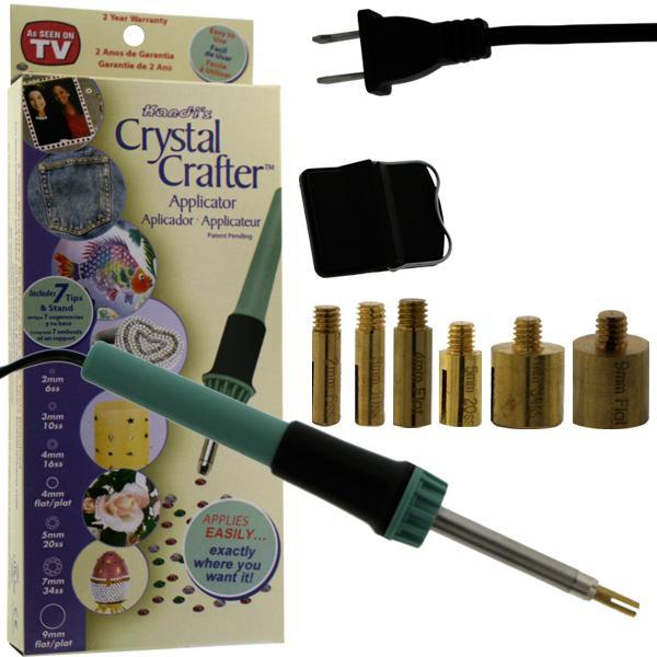 Crystal Crafter Hot Fix Applicator US Plug