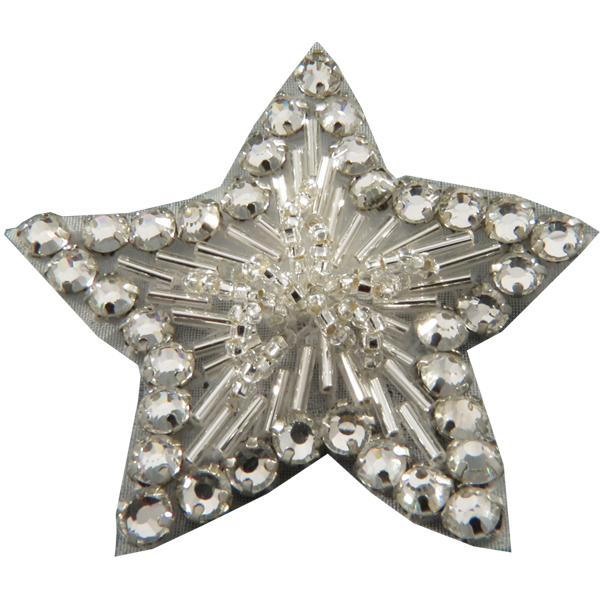 Rhinestone Star Appliqué