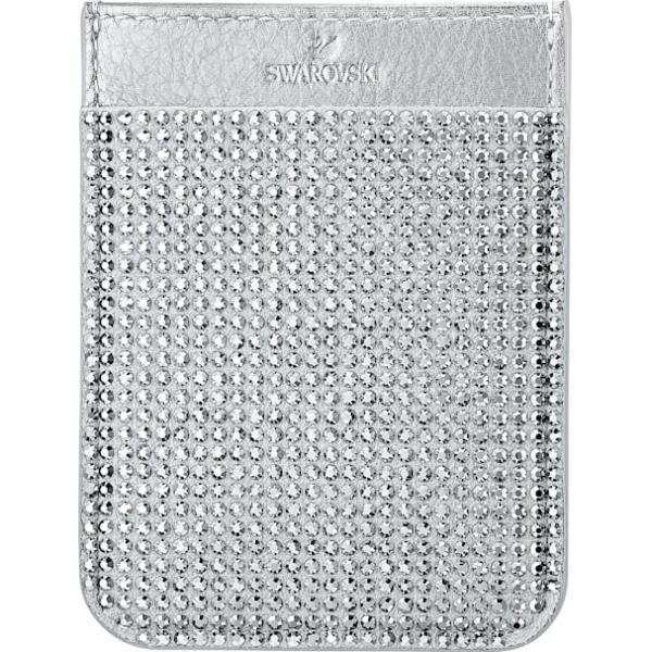 Swarovski Collections Smartphone Sticker Pocket, Gray