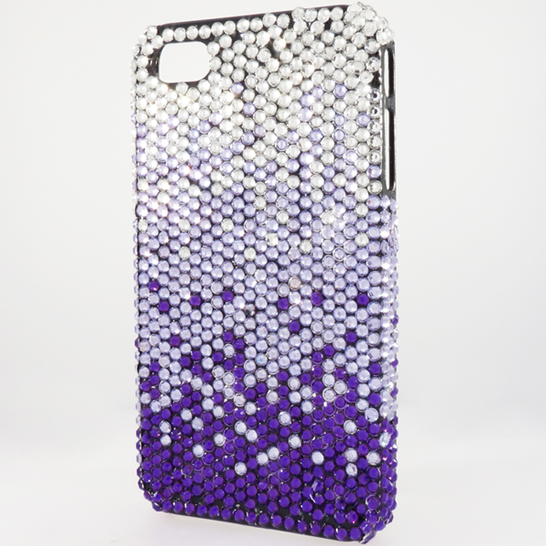 Bling iPhone Case for iPhone 4 Purple Fade
