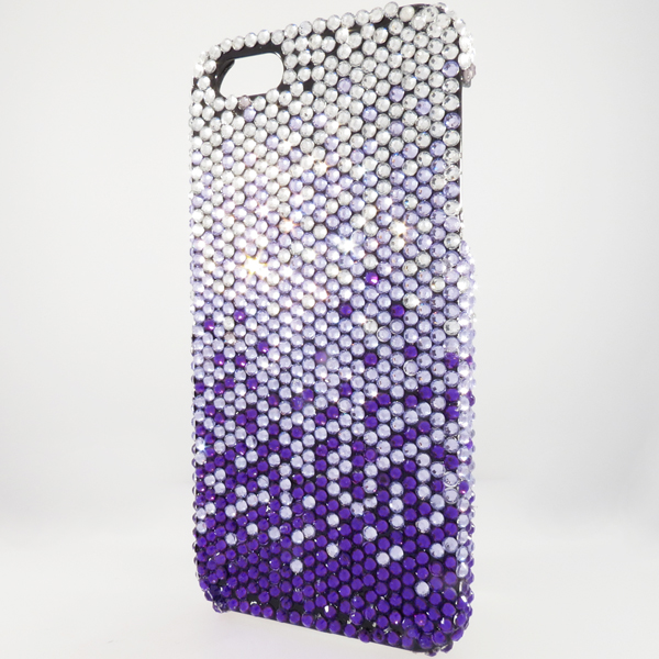 Bling iPhone Case for iPhone 5 Purple Fade