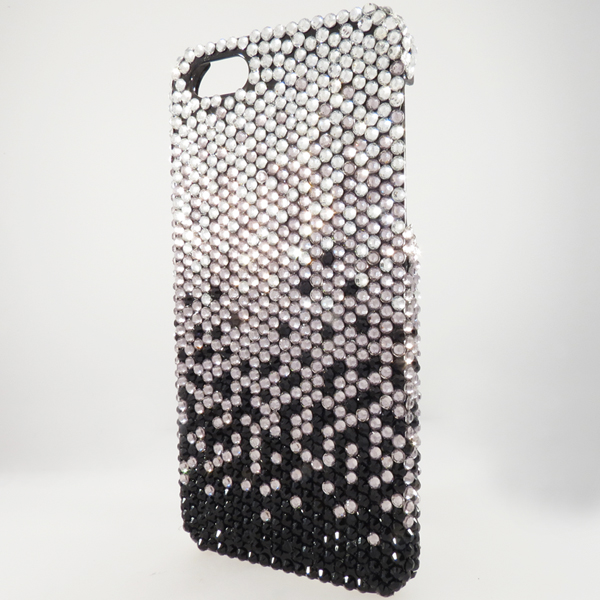 Bling iPhone Case for iPhone 5 Black Fade