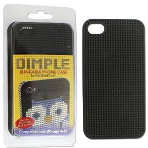 Dimpled Phone Case for iPhone 4/4S Black