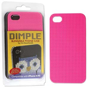 Dimpled Phone Case for iPhone 4/4S Pink
