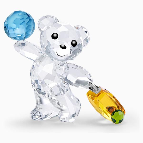 Swarovski Collection Crystal Kris Bear - I Travel the World
