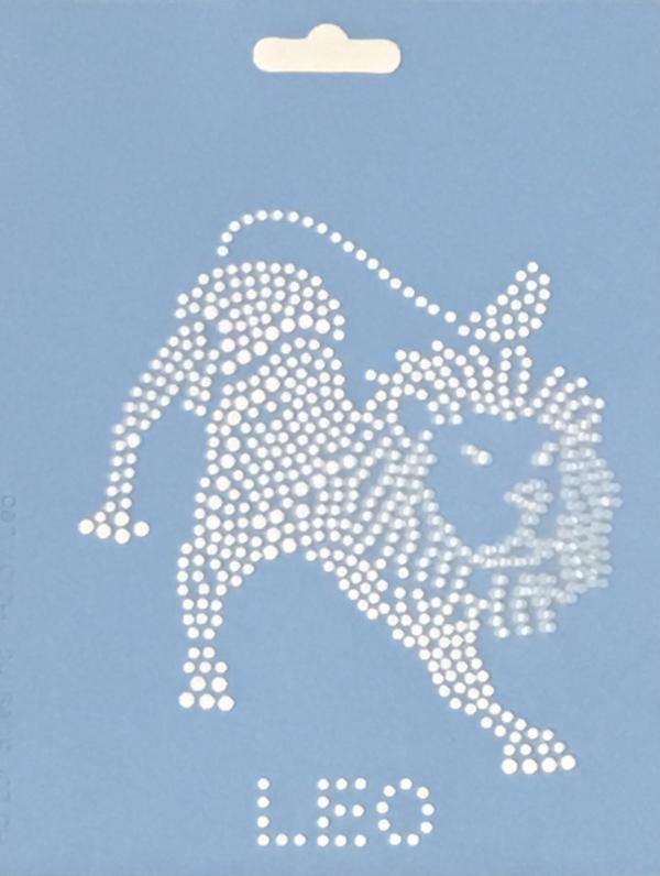 Crystal Style Leo Stencil