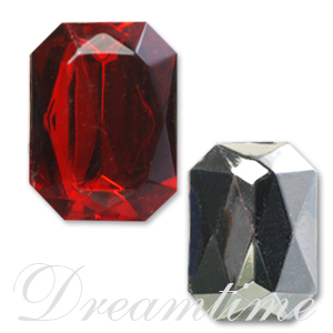 Lead Free Acrylic Rectangular or Square Shaped Rhinestones