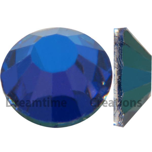 Preciosa VIVA12 Rhinestones Flatback MC Chaton Rose 20ss Bermuda Blue